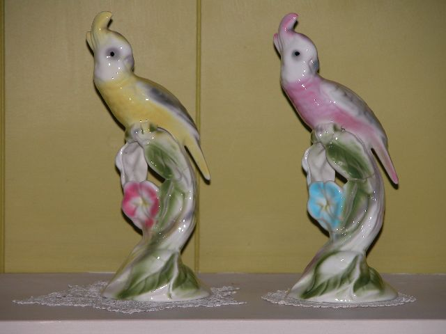 Elizabeth Jacob Abbott Bird Figurines