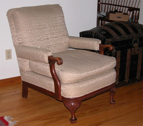 Clarence Abbott's Chair